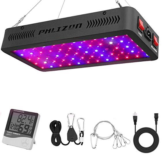 phlizon 600w led grow light
