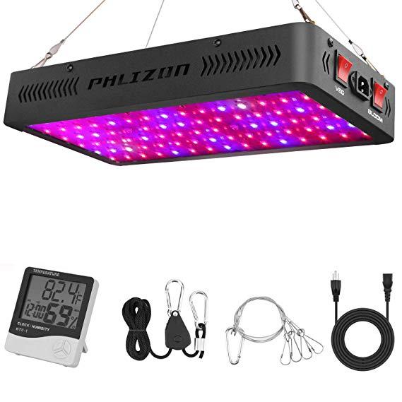 phlizon 900w led grow light