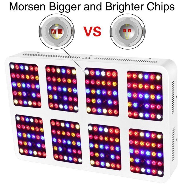Morsen 2400W LED Grow Light Review